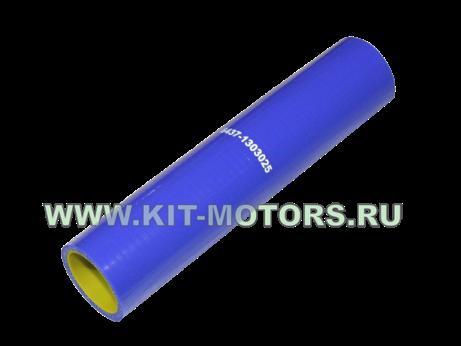 Силиконовый патрубок радиатора КрАЗ 6437-1303025 (верхний, правый)