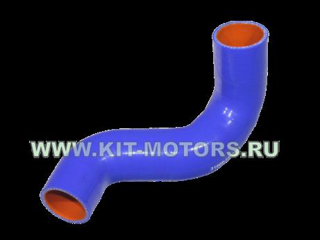 Силиконовый патрубок радиатора нижний 31608-1303027 на УАЗ (ЗМЗ-409 и ЗМЗ-514)