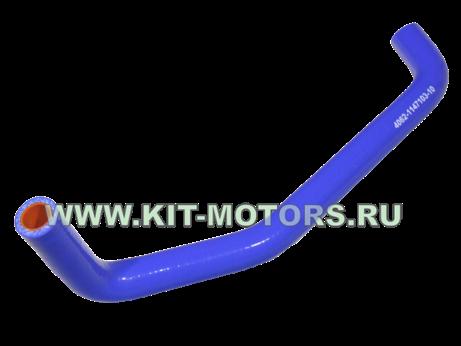 Маслостойкий силиконовый патрубок сапуна 4062-1147103-10 на УАЗ с двигателем ЗМЗ-409