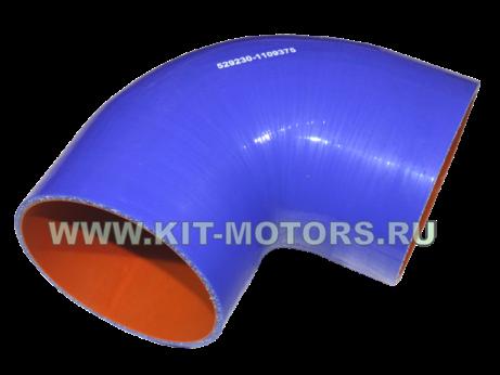 529230-1109375, силиконовый патрубок воздушного фильтра ЛиАЗ