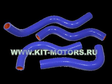 Силиконовые патрубки радиатора печки 3302-8120042/44/36-10/32-20 на ГАЗ-3302 с двигателем ЗМЗ-406