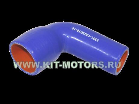 Силиконовый патрубок радиатора нижний 5301-1303010-10 для ЗИЛ-5301