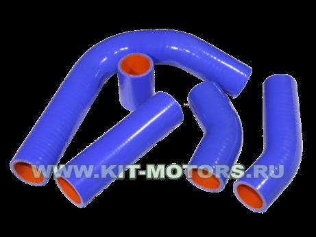 Силиконовые патрубки радиатора 3302-1303000 для ГАЗ 33021 с двигателем ЗМЗ-402