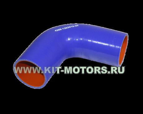 4308-1303010-20, силиконовый патрубок камаз